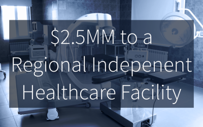 Quail Arranges $2.5MM Equipment Funding for Healthcare Facility