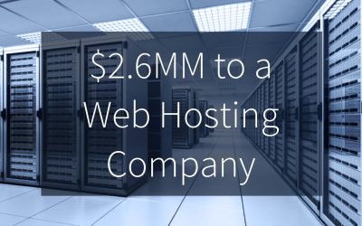 Quail Arranges $2.6MM Equipment Financing to Web Hosting Company